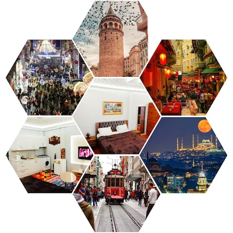 Loft in Istiklal street Galatasaray Lisesi