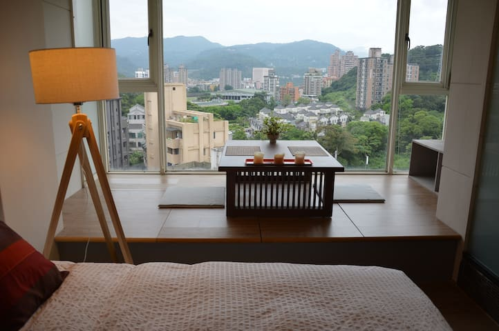 TAIPEI DESIGN APT 02. Taipei 5' MRT.Mountain View - Wenshan District - Appartement
