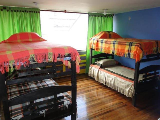 habitaciones acomodación multiple