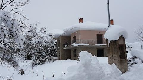Cottage near to ski center Vasilitsa