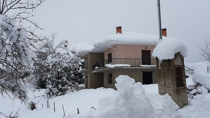 Cottage near to ski center Vasilitsa
