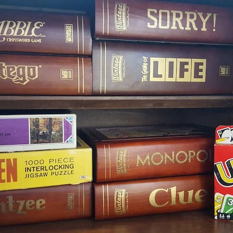 Classic family board games