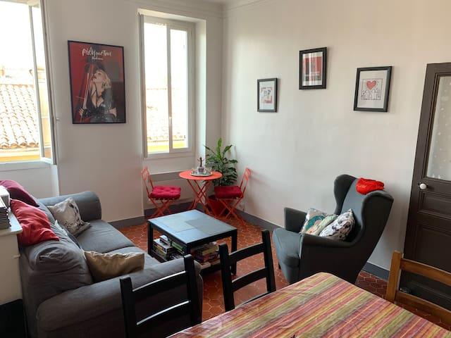 Chambre dans beau logement marseillais