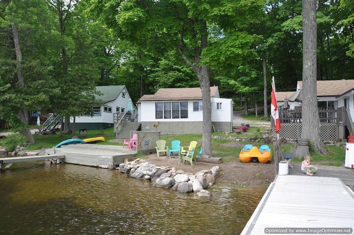 Lake Vibe!  Family Friendly Buckhorn Cottage