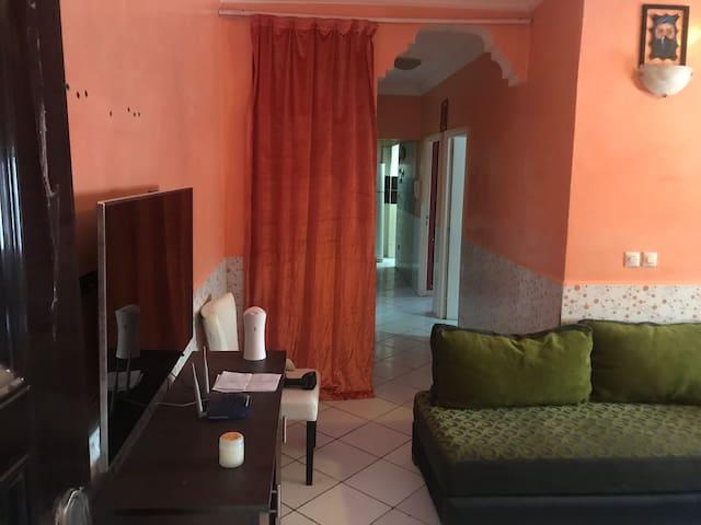 Appartement équipé et confortable et climatisé