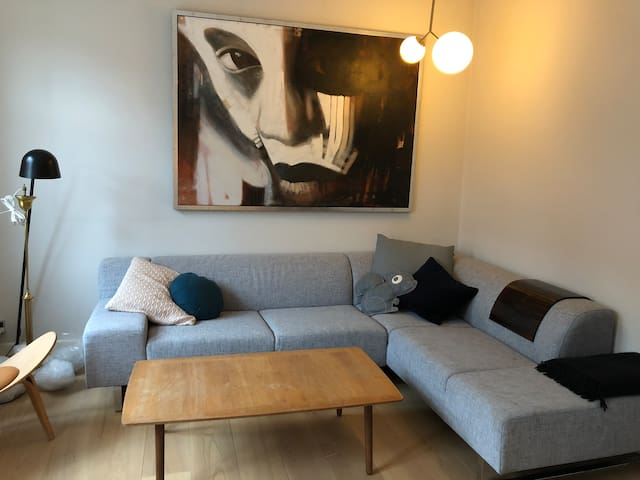 Charming 100 year old townhouse in downtown Odense