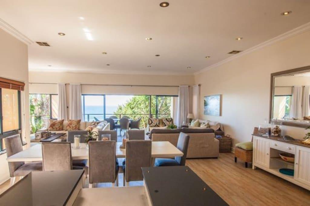 14 Imithi - Open plan living area - Zimbali Coastal Resort - Beach Estate
