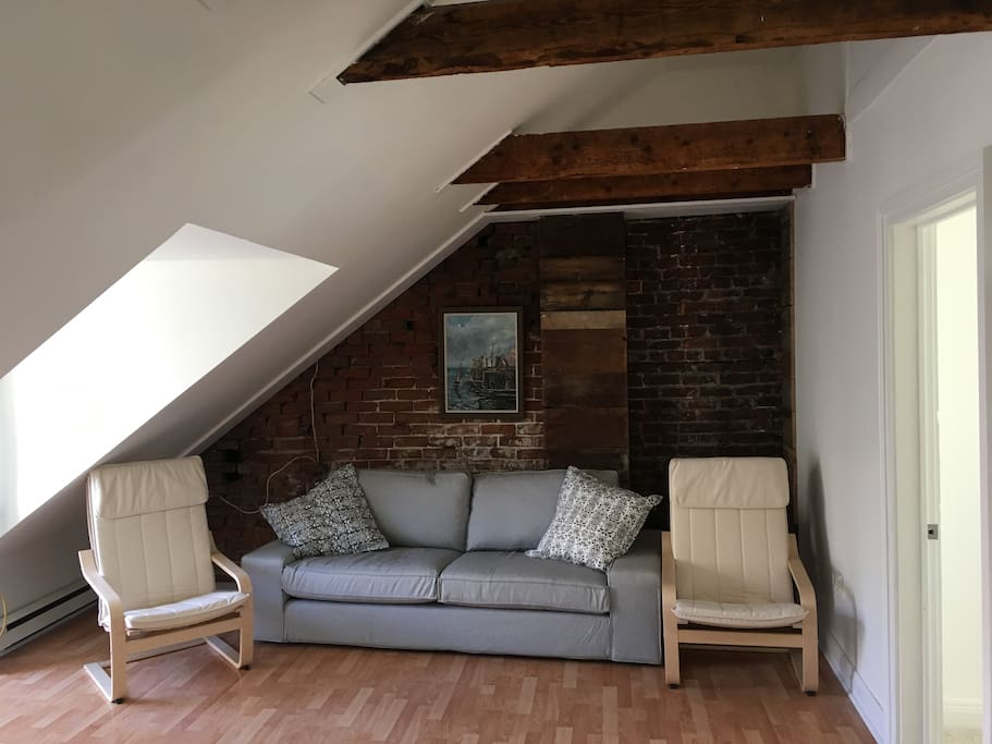 Recently renovated two bedroom loft. Professional photographs to follow.