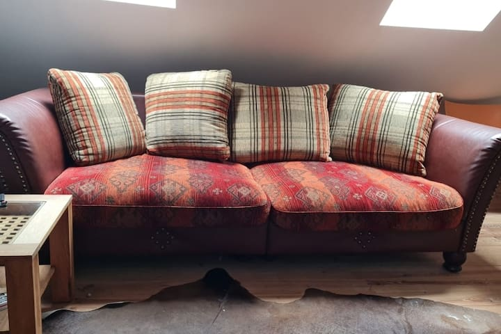 Double bed sleeping couch