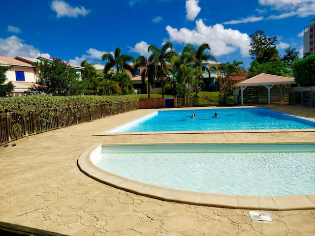 Maison de vacances, piscine+plage, quartier idéal
