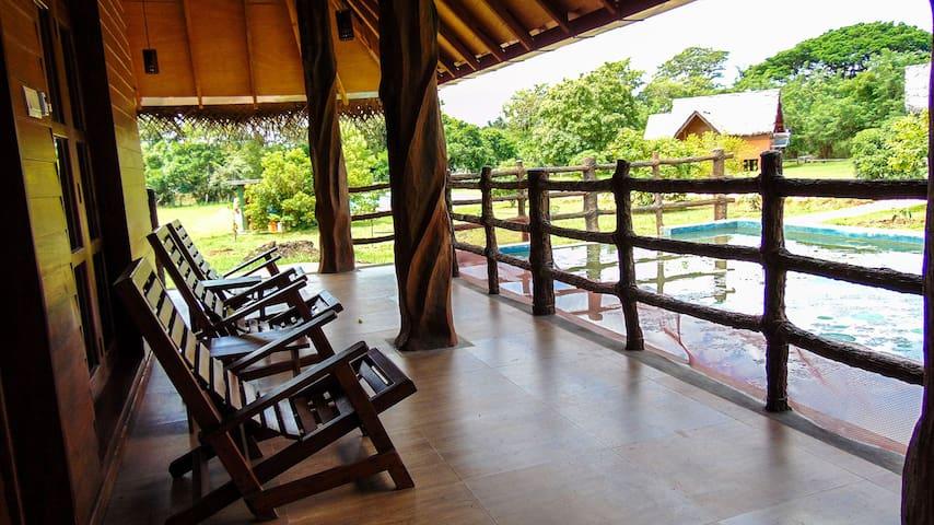 Sigiriya Water Cottage Double Room with Lake View