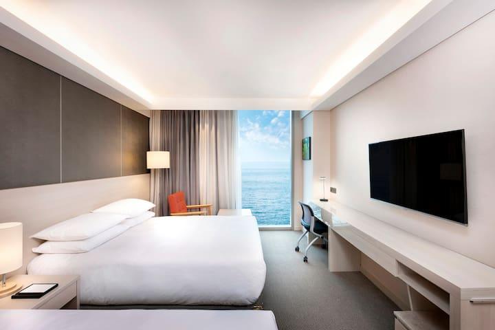 [Regentmarine hotel] Superior Family Twin Sea View