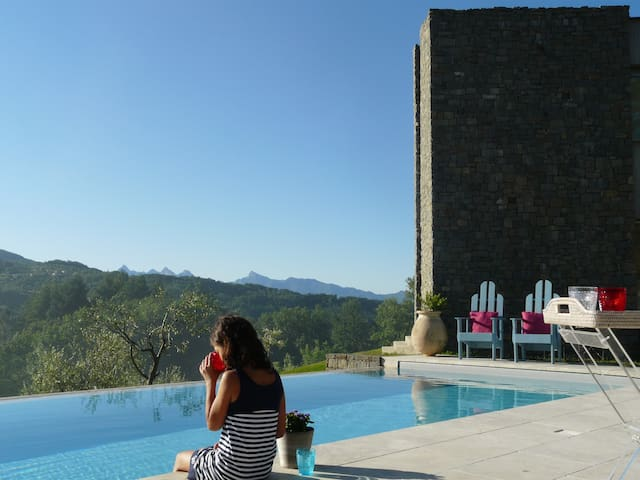 Apment360°ViewsInfinityPool BAGNONE - Villafranca in Lunigiana