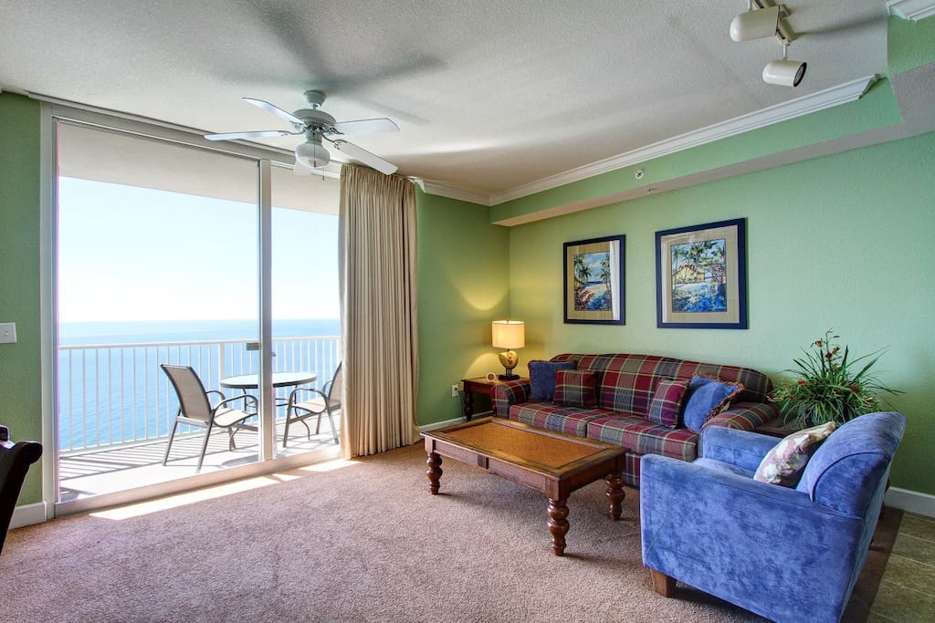 Enjoy magnificent views right from the living room