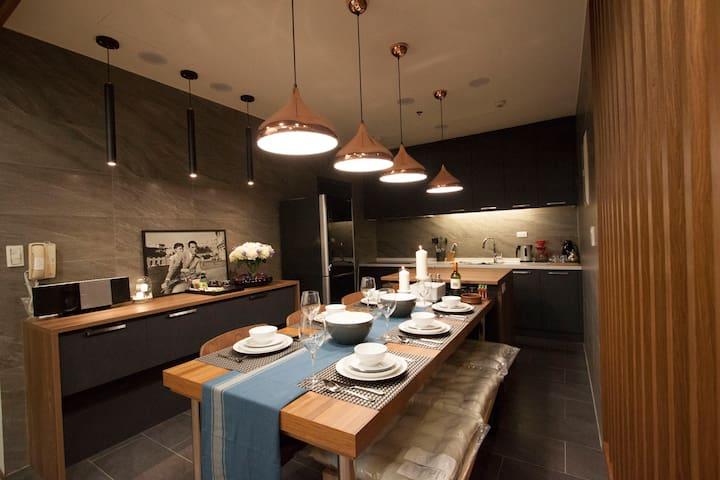 高雄三多商圈 M.J.型旅提供了高雅的住宿空間,適合旅後舒適的休憩地點. - Qianzhen District - Appartement