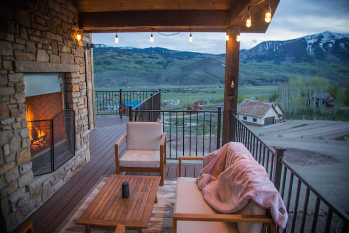 Crested Butte South new build with amazing views