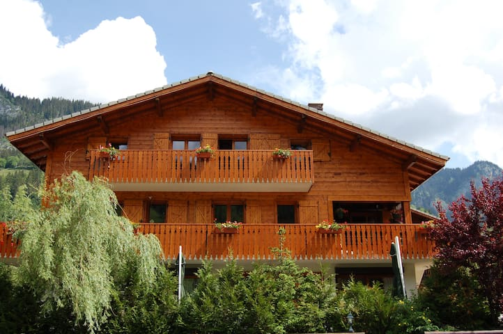 For 8 - 10 persons, in front of the slopes! - La Chapelle-d'Abondance - Apartment