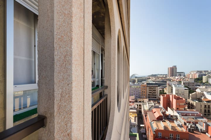 Apartment in Candelaria Square with views and WIFI