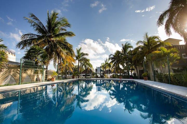 Lagoon House, Cancún.