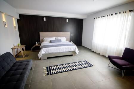Suite del Hotel María Inés cerca del aeropuerto