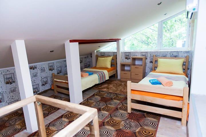 комната в лофт стиле-Loft style room