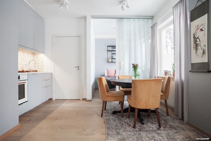 Apartment next to Stockholm city