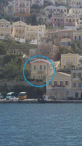 ΙΣΟΓΕΙΟ ΔΙΑΜΕΡΙΣΜΑ - ΣΤΟΥΝΤΙΟ - Ano Symi
