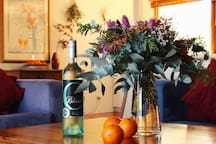 The perfect place to unwind and have a Chenin Blanc grown on the property