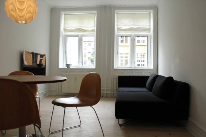 Cozy and clean apartment in Copenhagen