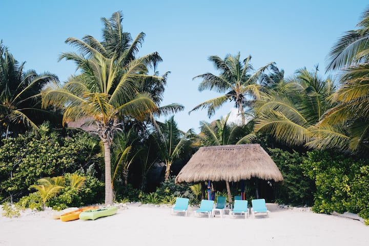 Beach Front Casa, Soliman Bay | 10 Min. N of Tulum