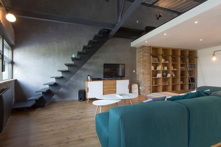 A Loft Story à Annecy - Cran-Gevrier - Loft