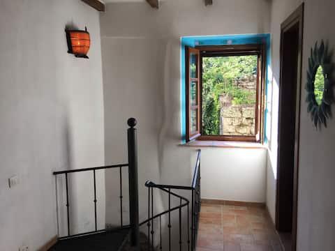 Romantic apartment for two in beautiful Sorano