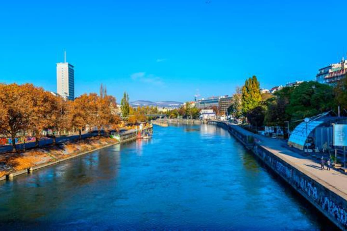 Donaukanal- 2 minutes from the apartment