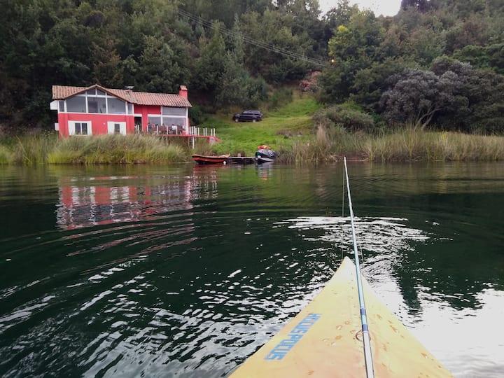 El Secreto de Tota -  Cottage lakeside