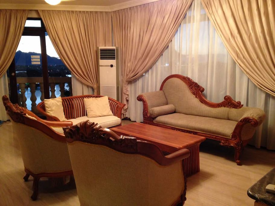 the living room kuching riverbank suites waterfront city centre 30mbps 14693