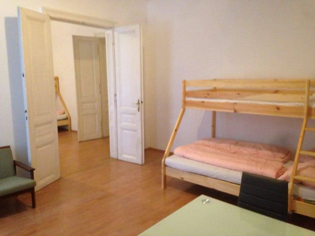 BIG SPACE 2 Rooms for 4-6 People -NEAR CITY CENTER - Wien - Apartment