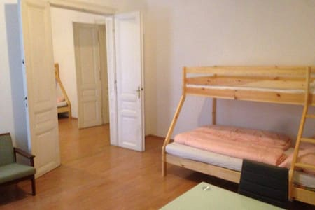 BIG SPACE 2 Rooms for 4-6 People -NEAR CITY CENTER - Wien - Huoneisto