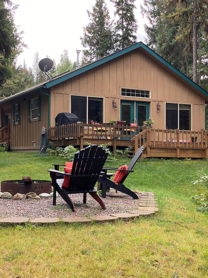 Kade's Swan river cabin on Piper creek