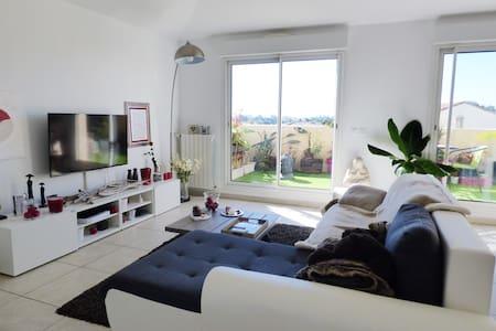 Dans une résidence sécurisée, appartement de 88 m² - Perpignan - Appartement en résidence