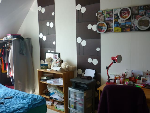 chambre dans pavillon tout confort - Chambly - House