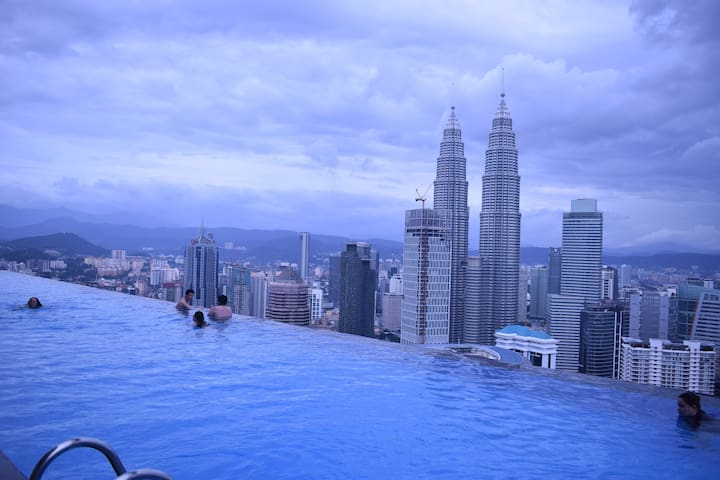 Rooftop Pool,Near KLCC THE FACE Platinum Suites - Kuala Lumpur - Serviced apartment