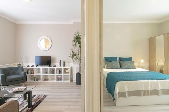 LE COUËDIC, appartement cosy, proche centre & gare