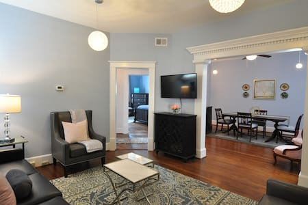 Trendy downtown Condo -great for longer stays - Greenville - Lägenhet