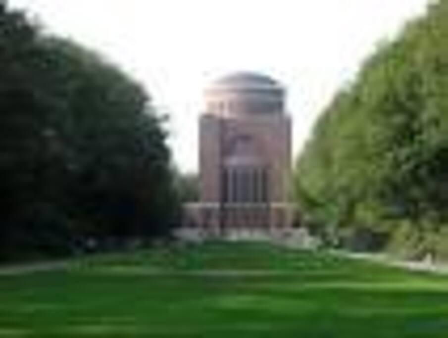 Planetarium im Stadtpark ( NICHT meine Wohnung ! )