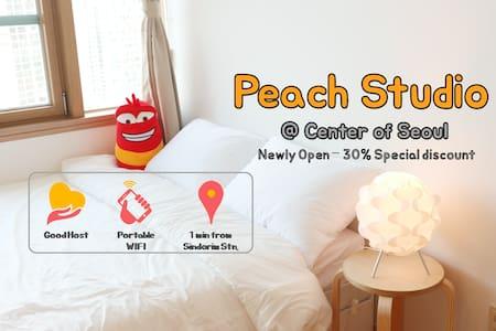 PEACH HOUSE - 2min from SINDORIM Station - Guro-gu - Apartamento