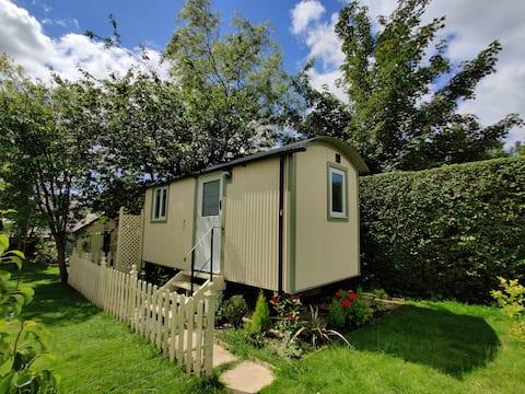 The Duck House - Luxury Shepherd's Hut, near Gower