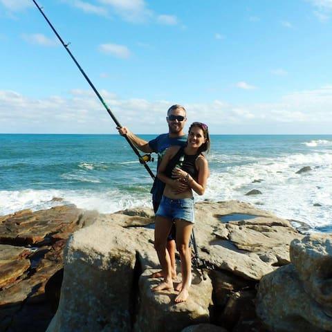 fun, sun and fishing on The Fort