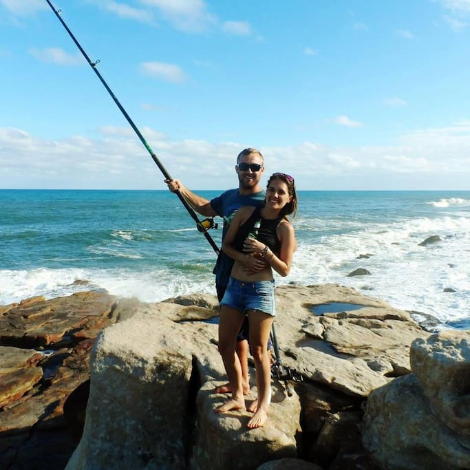 fun, sun and fishing on The Fort