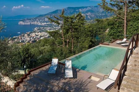 Villa Davide with infinity pool - Priora - Villa