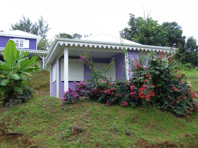 Petite maison créole proche plage - La Trinité - Dům